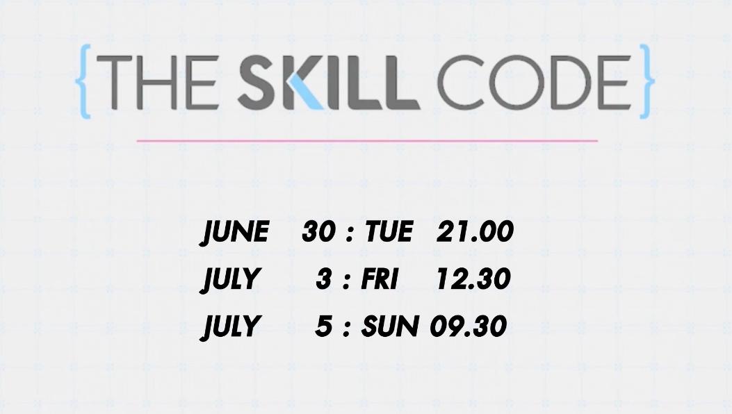 Skill Code 30 June 20
